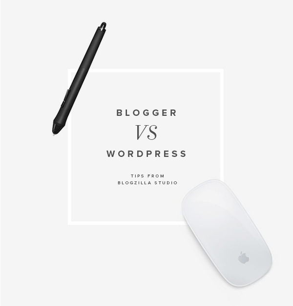 blogger vs wordpress | blogzilla