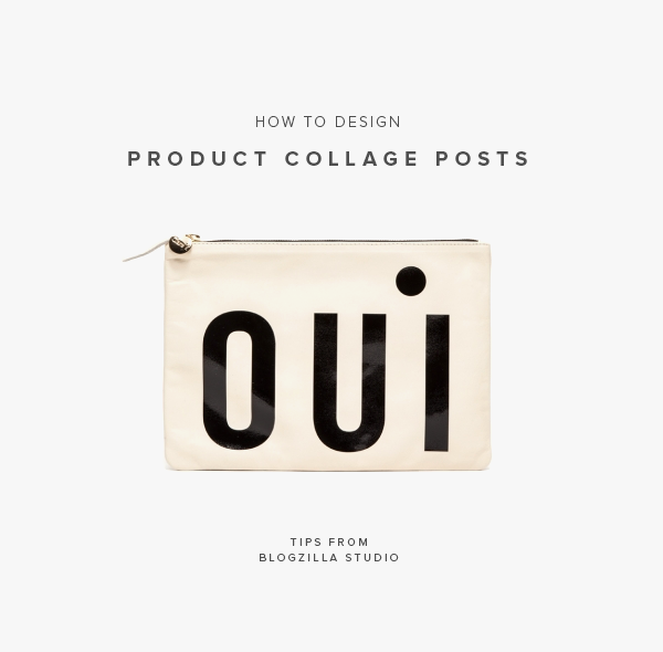 how to design product collage posts | blogzilla studio
