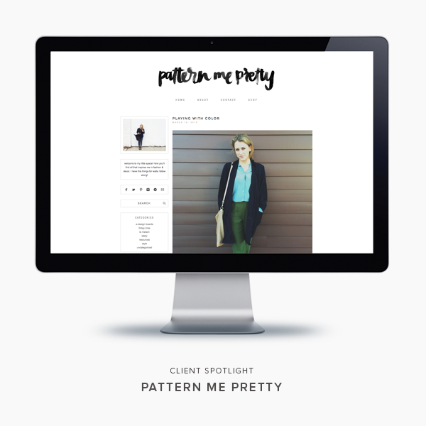 client spotlight | pattern me pretty | blogzilla studio