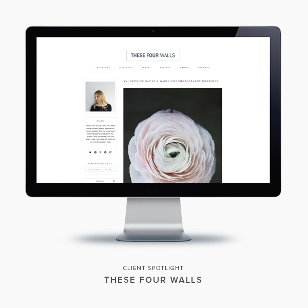 client spotlight | these four walls | blogzilla studio