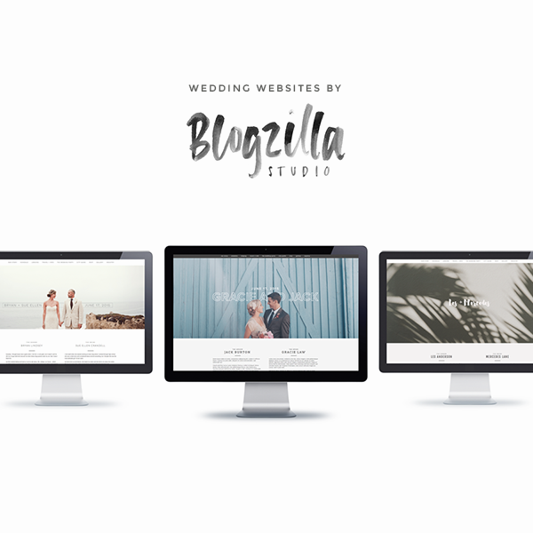wedding sites by blogzilla studio